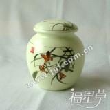 景德镇陶瓷中号茶叶罐